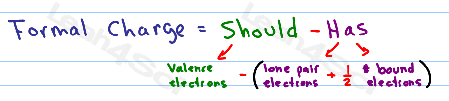Formal Charge Formula and Shortcut