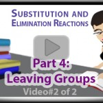 Oxygen As A Leaving Group Using Tosylate And Mesylate in Substitution & Elimination Reactions Tutorial Video