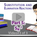 SN1 Reaction Mechanism with Hydride Shift and Carbocation Rearrangement Part 3 Tutorial Video