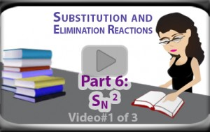 SN2 Reaction Rate and Mechanism Bimolecular Substitution Part 1 Tutorial Video