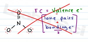 formal charge equation