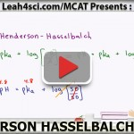 Henderson Hasselbalch MCAT Trick for Buffer pH Without a Calculator video