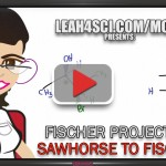 Sawhorse to Fischer Projections orgo tutorial video