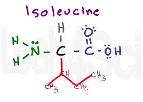 isoleucine structure