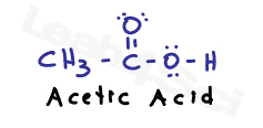 acitic acid molecular structure (1)