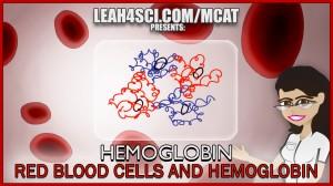hemoglobin and red blood cells MCAT tutorial video