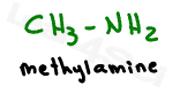methylamine structure