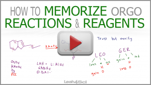 How to Memorize Organic Chemistry Reactions and Reagents by Leah Fisch