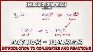 Introduction to MCAT Acids and Bases Conjugates and Reactions