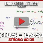 pH Calculations for Strong Acids in MCAT Acid Base Chemistry Video 2 (2)