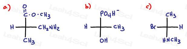 Fischer Projection Quiz Question #2
