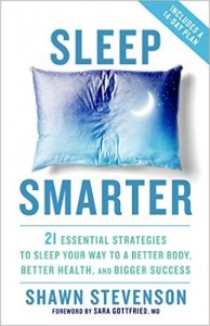 Sleep Smarter Book by Shawn Stevenson