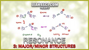 Major and Minor Resonance Contributors Organic Chemistry Tutorial By Leah Fisch (1)
