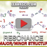 Major and Minor Resonance Contributors Organic Chemistry Tutorial By Leah4sci