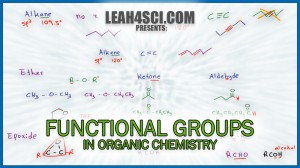 Organic chemistry functional groups made easy