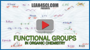 Organic chemistry functional groups video by leah fisch