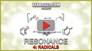 Radical Resonance for Allylic and Benzylic Radicals by Leah4sci