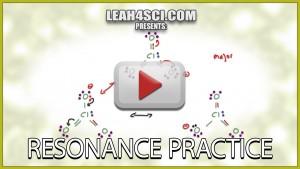 Resonance Practice Problems for Organic Chemistry Tutorial Video
