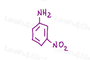 Resonance Quiz meta nitroaniline