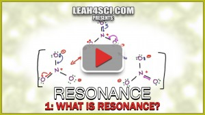 What is Resonance - Understanding Orgo Resonance Structures Vid 1 by Leah4sci