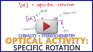 Optical Activity Specific Rotation in Organic Chemistry Leah4sci