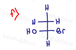 Stereochemistry Practice Chirality R S f