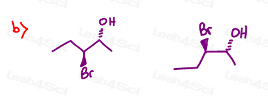 Stereochemistry Practice Chirality R and S b
