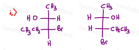 Stereochemistry Practice Chirality R and S i