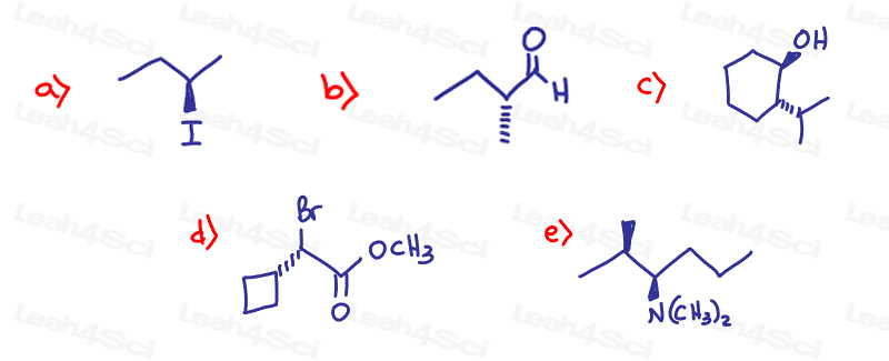 Stereochemistry Practice finding R and S configuration(1)
