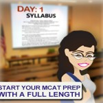 When to take MCAT full length practice test