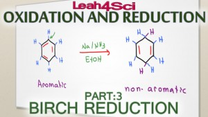 Birch Reduction Reaction and Mechanism Benzene and Substituted Rings Leah Fisch