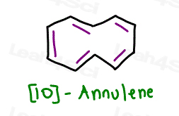 10-annulene tricky Aromaticity question nonaromatic