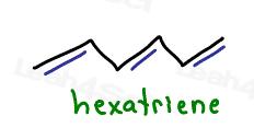 1,3,5-hexatriene Aromaticity tutorial