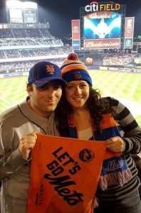 Leah Fisch Mets Fan Post Season 2015