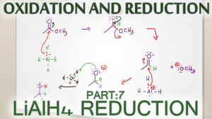 Lithium Aluminum Hydride LiAlH4 Reduction Reaction Mechanism Tutorial Video