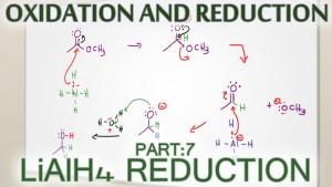 Lithium Aluminum Hydride LiAlH4 Reduction Reaction Mechanism Tutorial Video