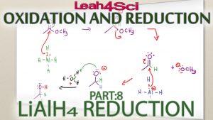 Lithium Aluminum Hydride (LiAlH4) Reduction Tutorial Video by Leah Fisch
