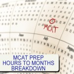 MCAT Prep Hours to months breakdown by Leah4sci