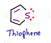 Thiophene aromaticity tutorial