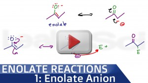 Enolate Ion Formation Organic Chemistry Tutorial Video