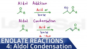 Aldol Addition Condensation Reaction Mechanism