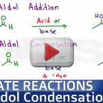 Aldol addition and aldol condensation tutorial video