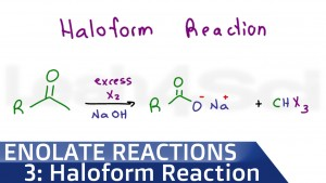 Haloform Reaction Mechanism and Iodoform Test by Leah Fisch