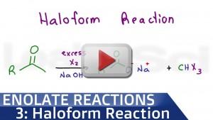Haloform Reaction and Iodoform Test tutorial video
