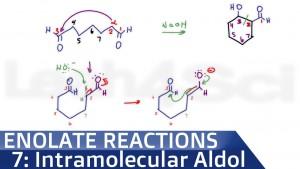 Intramolecular Aldol Condensation Reaction mechanism Leah Fisch