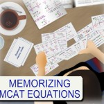 Memorizing MCAT Equations