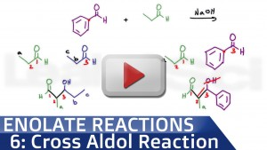 Mixed or Cross Aldol Condensation Reaction video