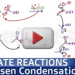 Claisen Condensation Reaction Mechanism Tutorial Video by Leah Fisch