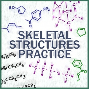 Drawing Skeletal Structures and bond-line notation practice quiz