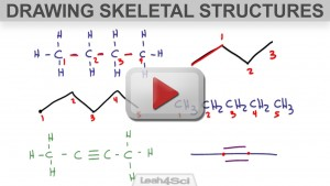 Drawing Skeletal Structures for Organic Compounds Video